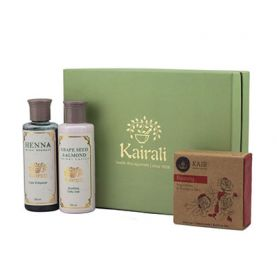 Body Care Gift Box (Henna Shampoo, Lotion & Beauty Soap)