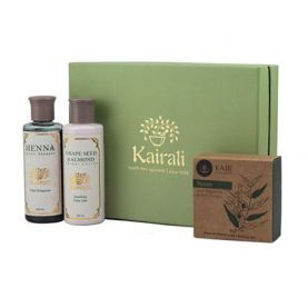 Body Care Gift box (Henna Shampoo, Lotion & Neem Soap)
