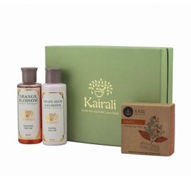 Body Care Gift Box (Orange Blossom Shampoo, Lotion & Sandal Soap)