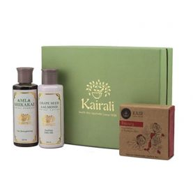 Body Care Gift Box (Amla Shikakai Shampoo, Lotion & Beauty Soap)